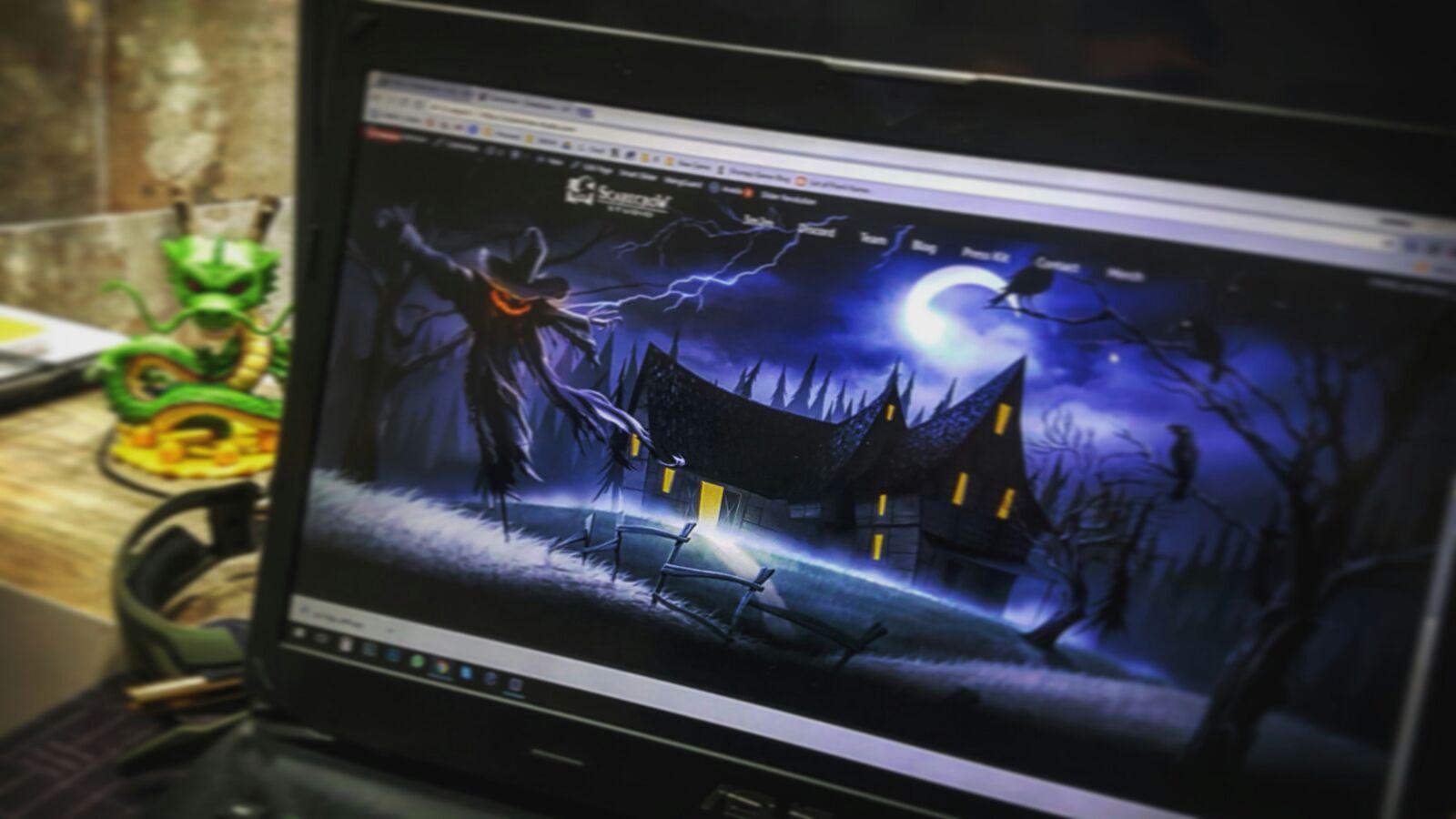 scarecrow-studio website